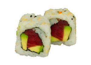 237. Tuna avocado uramaki